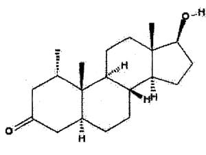 diagram of proviron-mesterolone-image